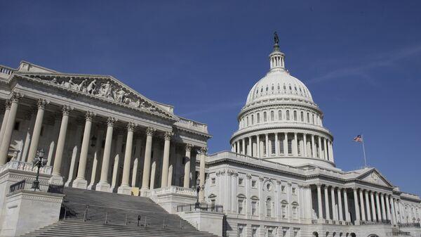 Капитолий, здание в Вашингтоне. Архивное фото