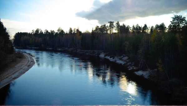 Река Ингуягун. Архивное фото