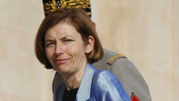 Министр обороны Франции Флоренс Парли в Париже. Архивное фото
