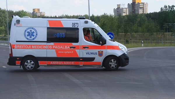 Автомобиль скорой помощи Литвы. Архивное фото
