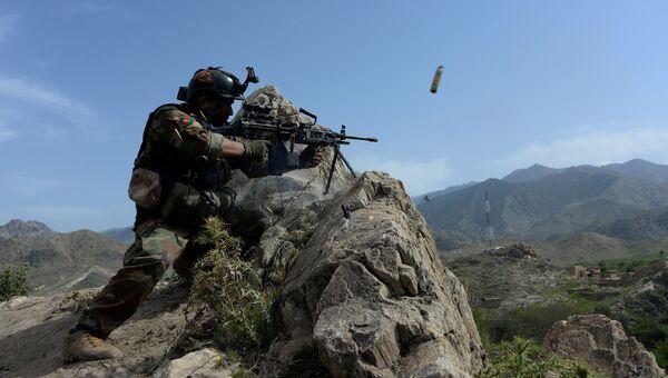 Сотрудник афганской службы безопасности. Архивное фото