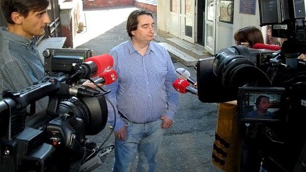 Редактор украинского интернет-издания Страна.ua Игорь Гужва. Архивное фото