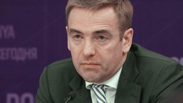 Статс-секретарь, заместитель Министра промышленности и торговли Российской Федерации Виктор Евтухов. Архивное фото