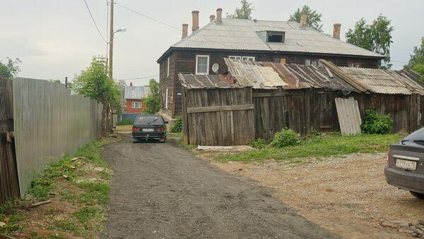 Барак на улице Чапаева в Ижевске