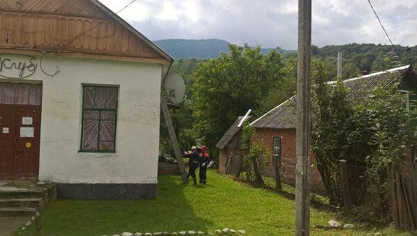 Район Краснодарского края, где прошел град диаметром 5 см