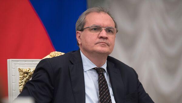 Главный редактор журнала Эксперт, секретарь Общественной палаты РФ VI состава Валерий Фадеев. 20 июня 2017