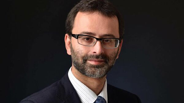 Депутат Верховной рады Украины, вице-президент ПАСЕ Георгий Логвинский. Архивное фото
