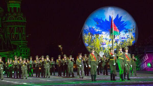 Коллектив из Белоруссии на фестивале Спасская башня