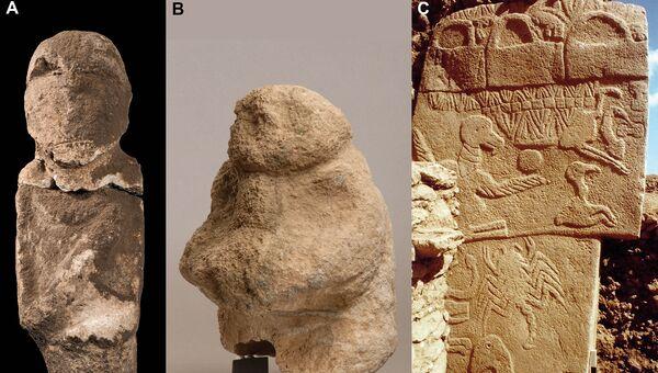 Артефакты из Гебекли-Тепе, одной из древнейших стоянок людей каменного века