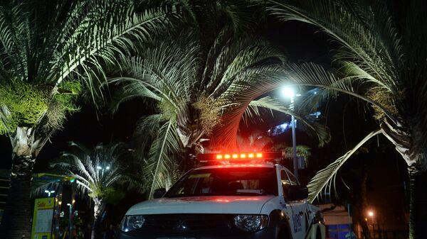 Автомобиль бразильской полиции