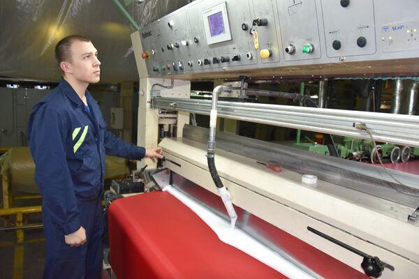 Отделочное производство - нанесение покрытия на ткань