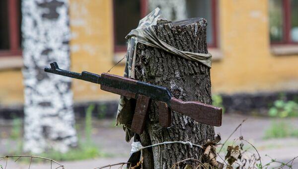 Приманка для снайпера в Донецке. Архивное фото
