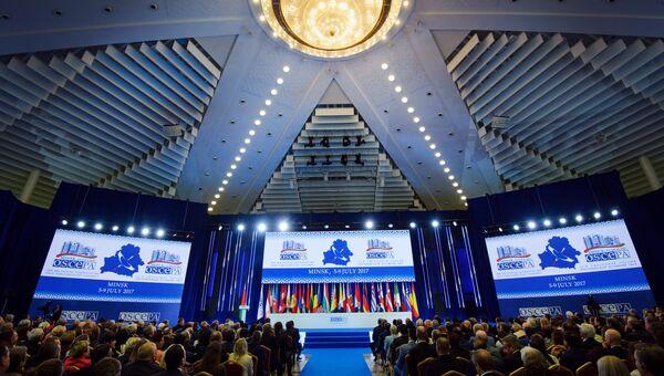 Заседание ОБСЕ. Архивное фото