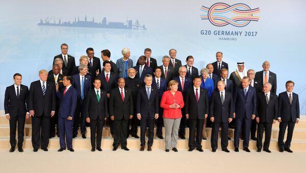 День посвящен встрече G20.