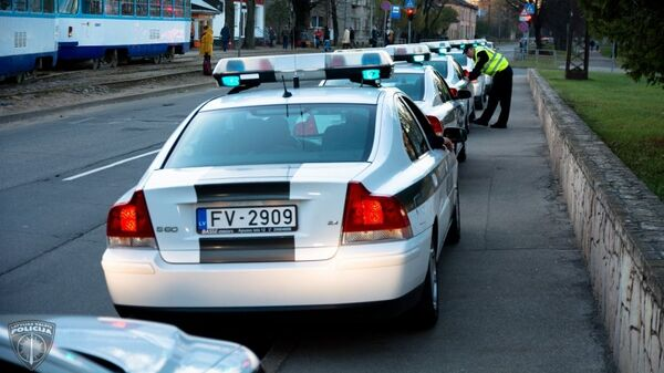 Машина латвийской полиции. Архивное фото
