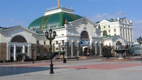 Здание железнодорожного вокзала, Красноярск