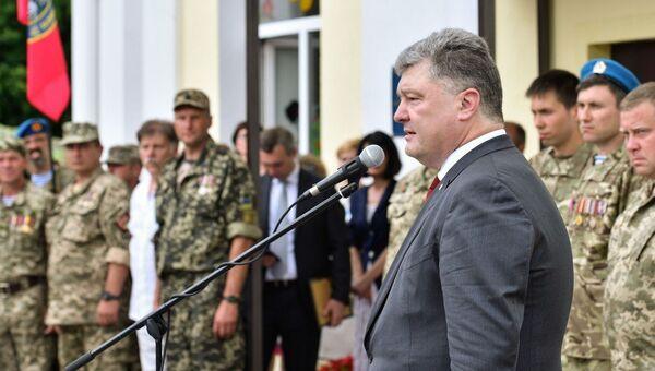 Рабочая поездка президента Украины Петра Порошенко в Сумскую область. 12 июля 2017