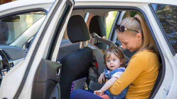 Перевозка ребенка в автомобиле