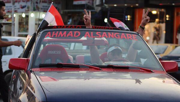 Жители Мосула празднуют освобождение от ДАИШ*