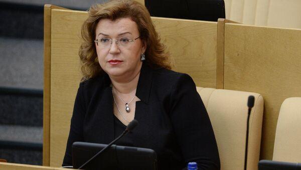 Вице-спикер Госдумы Ольга Епифанова. Архивное фото