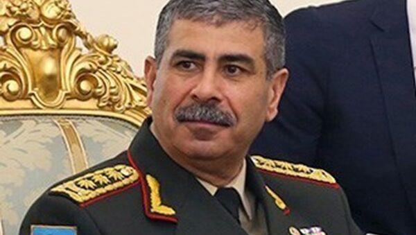 Mинистр обороны Азербайджана Закир Гасанов
