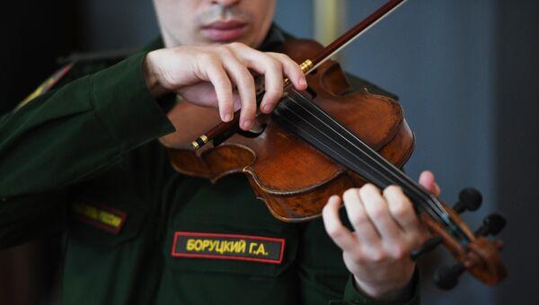 Участник Центрального военного оркестра Министерства обороны РФ. Архивное фото