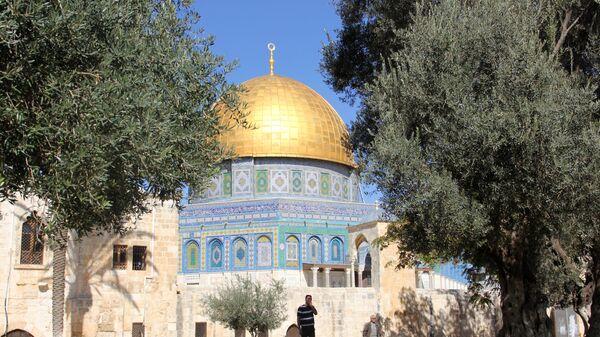 Храмовая гора в Иерусалиме. Архивное фото