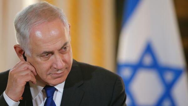 Премьер-министр Израиля Биньямин Нетаньяху. Архивное фото