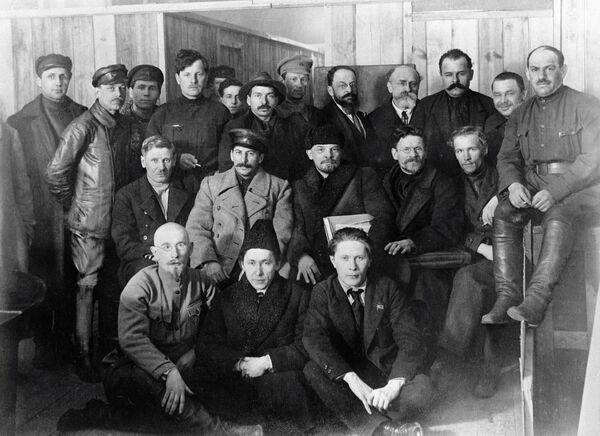 Делегаты VIII съезда РКП (б)
