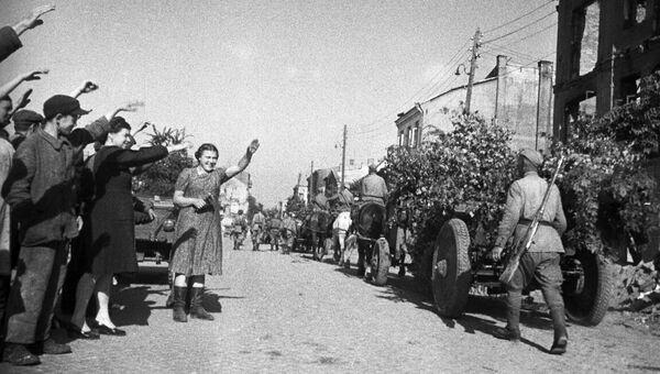 Освобождение Польши от немецко-фашистской оккупации. Великая Отечественная война 1941-1945 годов