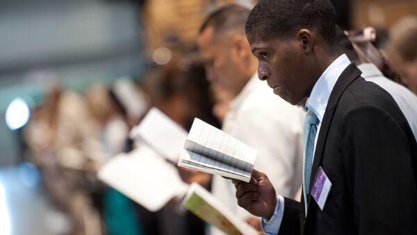 Последователи Свидетелей Иеговы*. Архивное фото