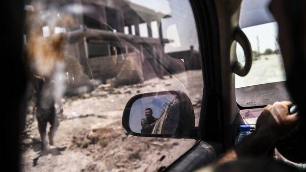 Члены Сирийских демократических сил (SDF) в Ракке. Архивное фото