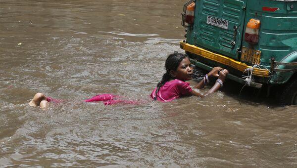 Наводнение в Индии. Архивное фото