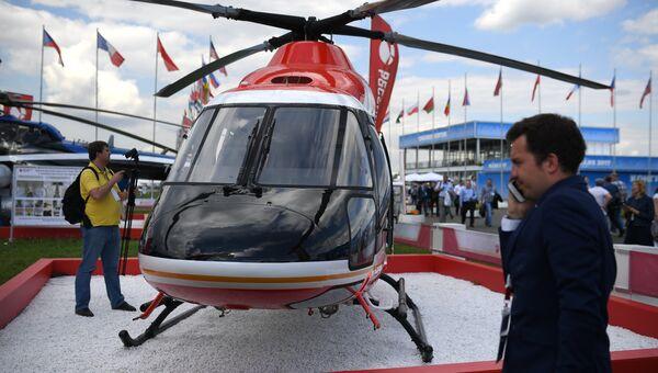 Легкий многоцелевой вертолет Ансат. Архивное фото