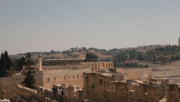 Мечеть Аль-Акса на Храмовой горе в Иерусалиме. Архивное фото