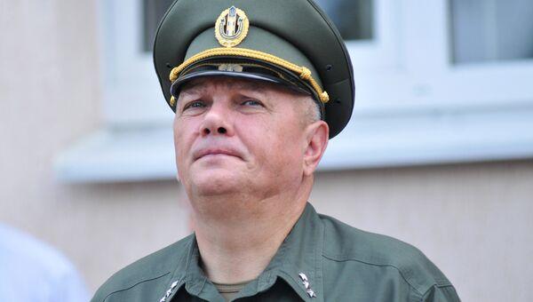 Председатель Госпогранслужбы Украины Виктор Назаренко. Архивное фото