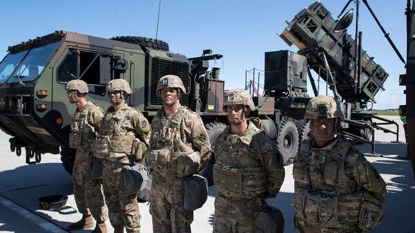 Американский ракетный комплекс Patriot во время учений НАТО. Архивное фото
