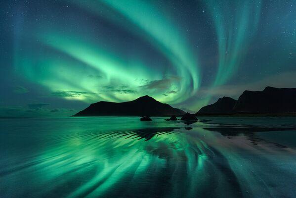 Работа фотографа Beate Behnke Reflection, вошедшая в шорт-лист Insight Astronomy Photographer of the Year 2017