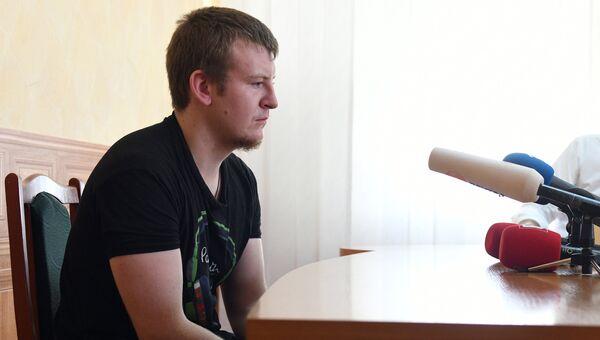 Задержанный на Украине россиянин Виктор Агеев. Архивное фото
