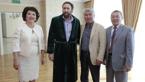 Николас Кейдж на Международном кинофестивале Евразии 2017 в Астане. Архивное фото