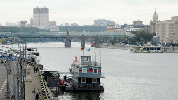 Поисково-спасательная станция в Парке Горького в Москве
