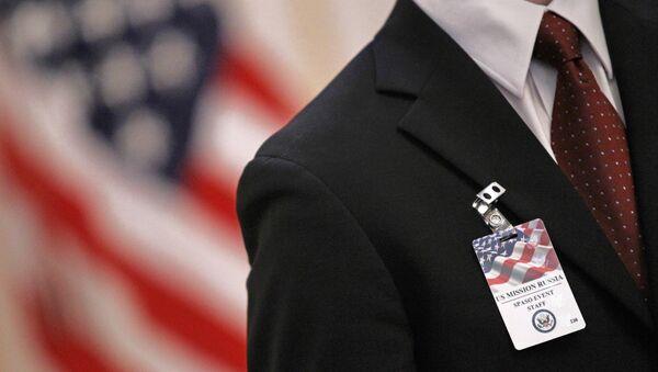 Сотрудник посольства США. Архивное фото