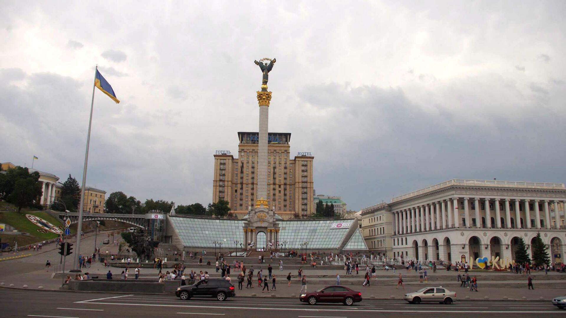 Площадь Независимости в Киеве  - РИА Новости, 1920, 29.11.2020