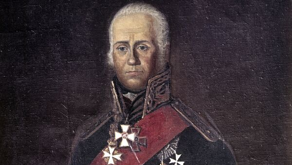 Федор Федорович Ушаков, русский флотоводец, адмирал. Архивное фото