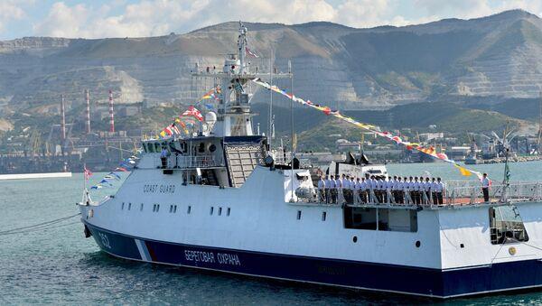 Пограничный сторожевой корабль Жемчуг. Архивное фото