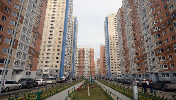 Жилые дома в Москве. Архивное фото