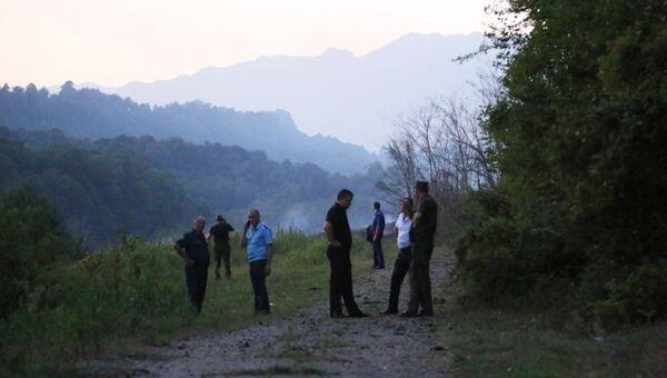 Село Приморское Гудаутского района, где взорвались боеприпасы на складе Минобороны Абхазии. 2 августа 2017