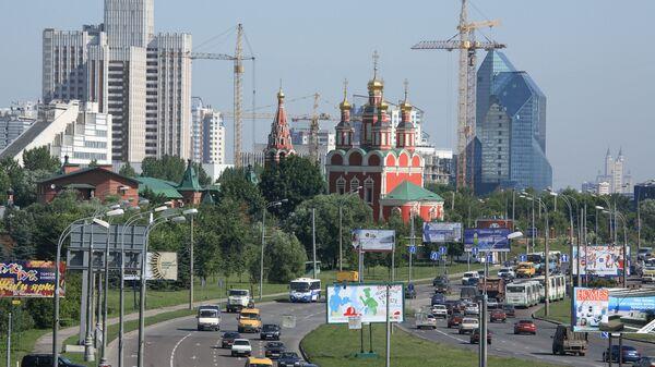 Церковь Архангела Михаила на проспекте Вернадского в Москве