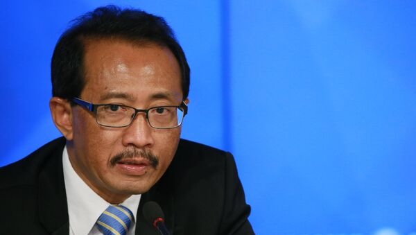 Чрезвычайный и Полномочный Посол Республики Индонезия в России Вахид Суприяди. Архивное фото