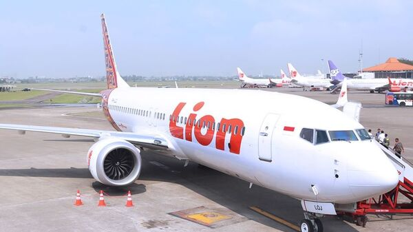 Самолет авиакомпании Lion Air. Архивное фото